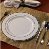 Sample Plates & Silver Reflection Cutlery